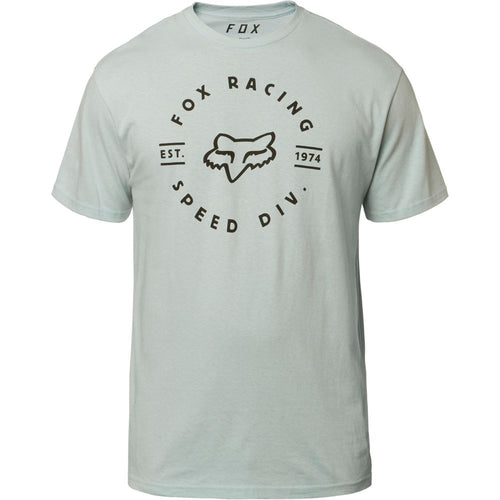 Fox Mens Clocked Out SS Tee Shirt In Iced