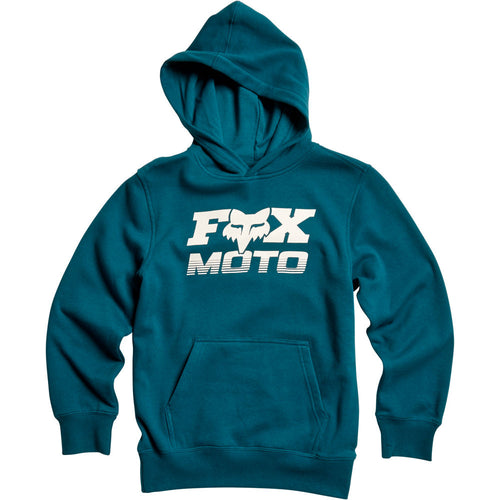 Fox Boys Charger Pullover Hoodie In Maui Blue