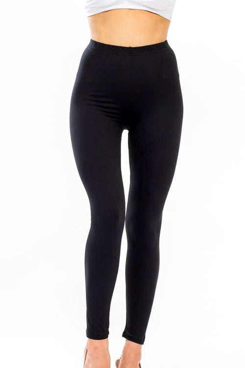 Cap Zone Ladies Soft Legging In Black