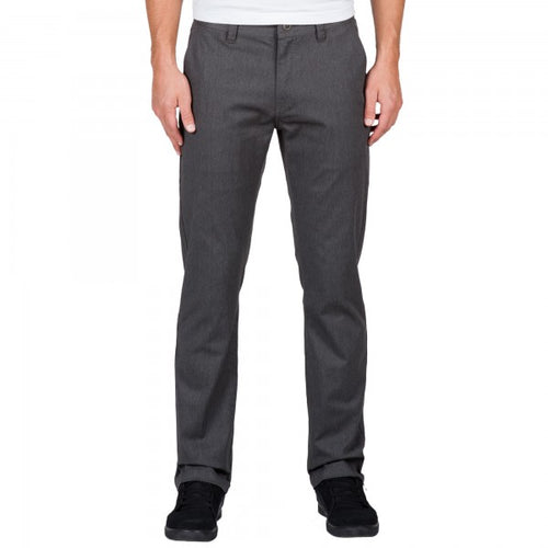 Volcom Mens Frickin Modern Stretch Pants Charcoal Heather