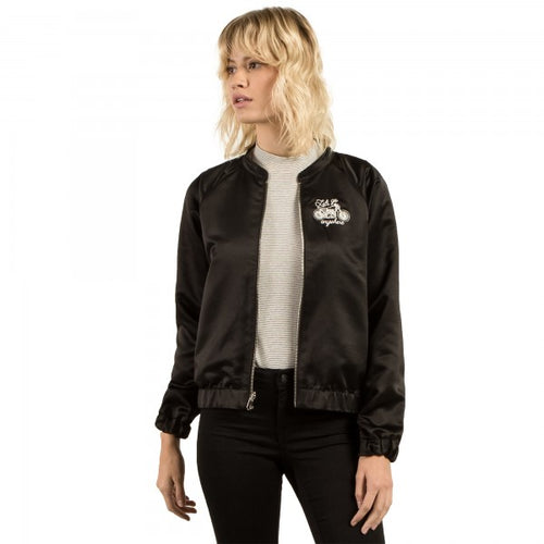 Volcom Ladies Beat Beach Jacket in Black