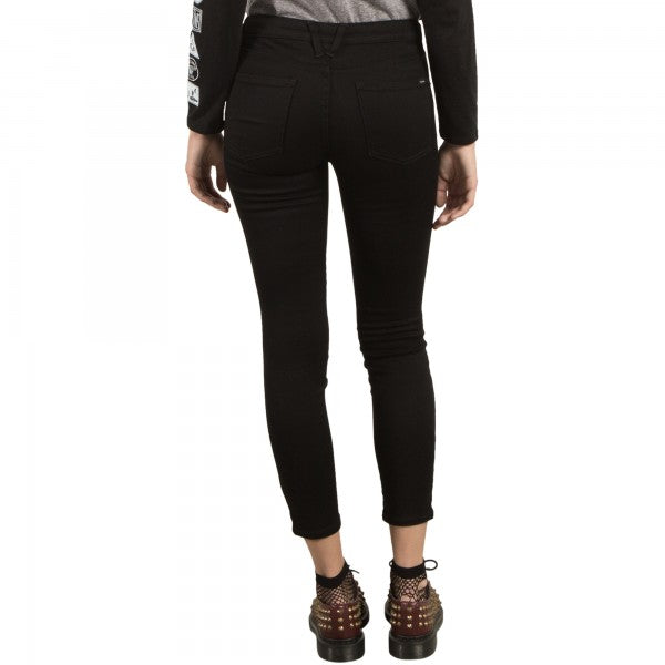 Volcom Ladies Liberator Leggings in Twilight Black