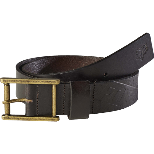 Fox Mens Briarcliff Leather Belt in Brown