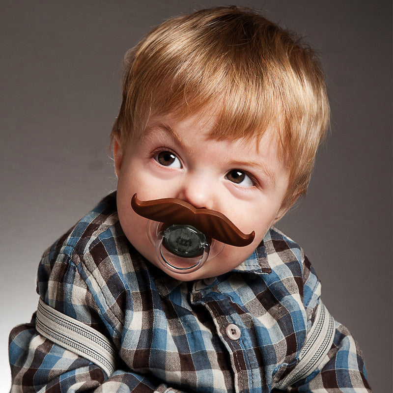 BEARDO Beermo Bottle & Pacifier Mustaches