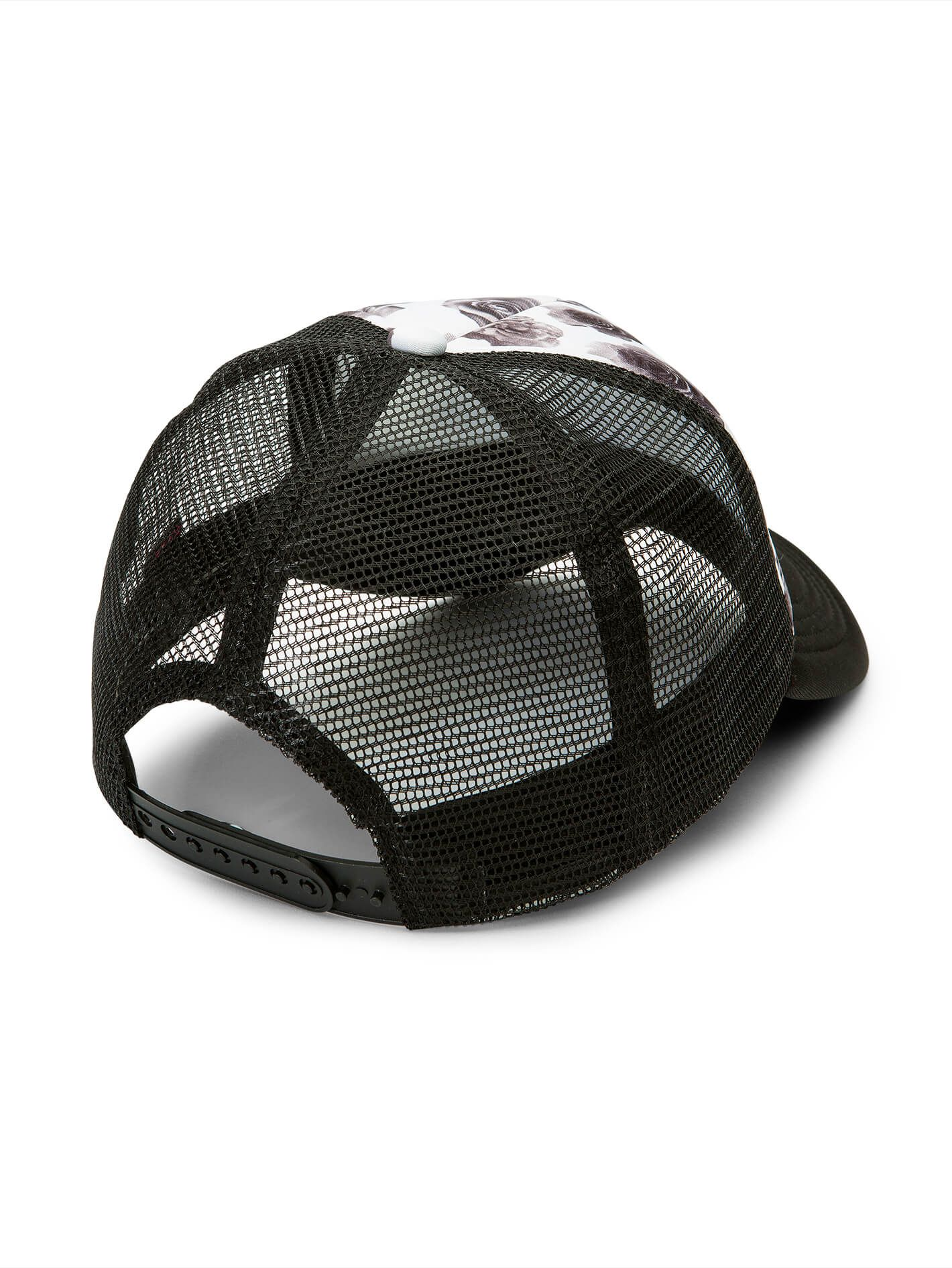 finest selection b2370 abafc wholesale volcom girl talk trucker hat womens 6aa68 96f92  cheapest volcom  ladies lost marbles hat in black white aef90 63690
