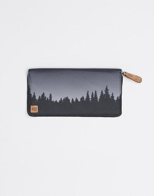 Tentree Juniper Zip Wallet In Meteorite