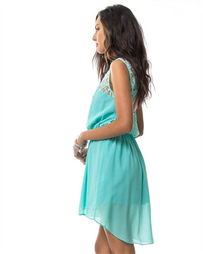 Ladies Grand Oriental Dress Mint