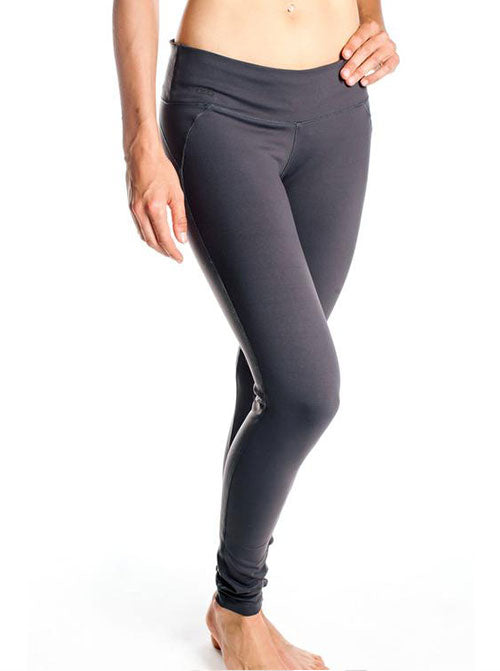 ORB Ladies Lindsey Superstretch Legging In Charcoal Heather