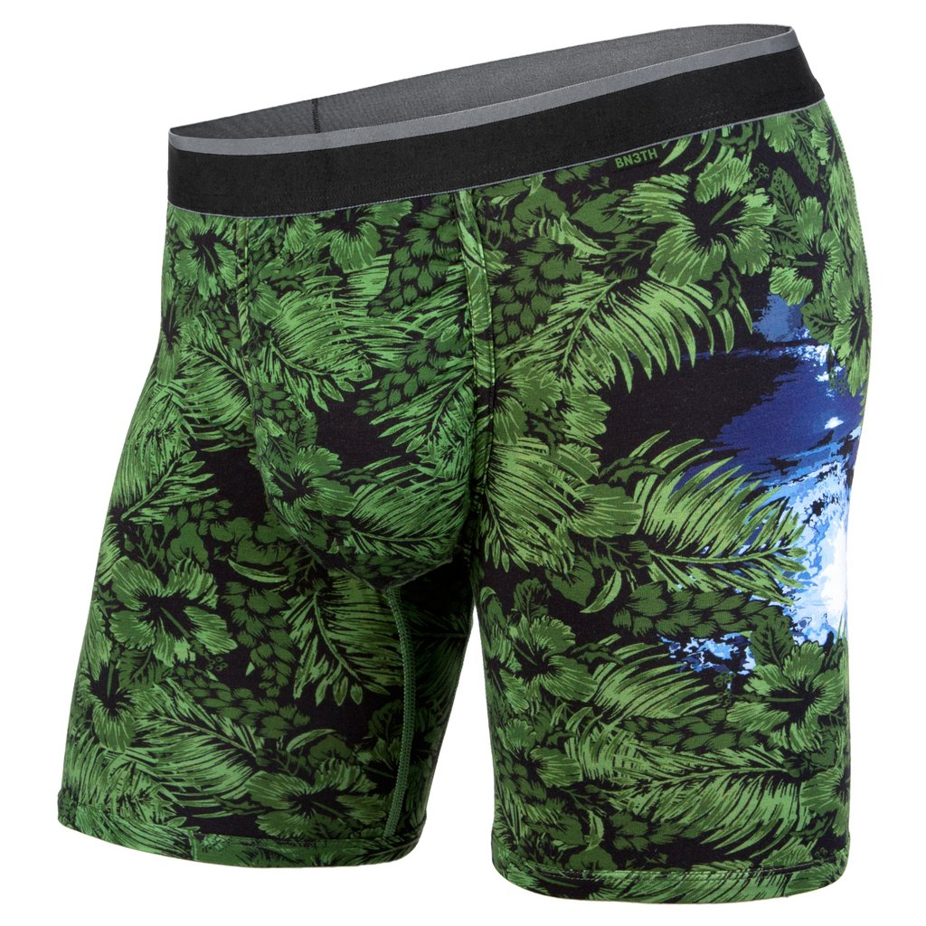 BN3TH Mens Classic Boxer Briefs In Surf Check