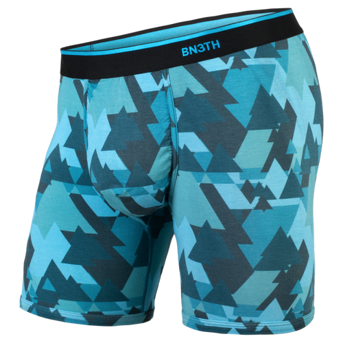 BN3TH Mens Boxer Brief In Geotrees Teal
