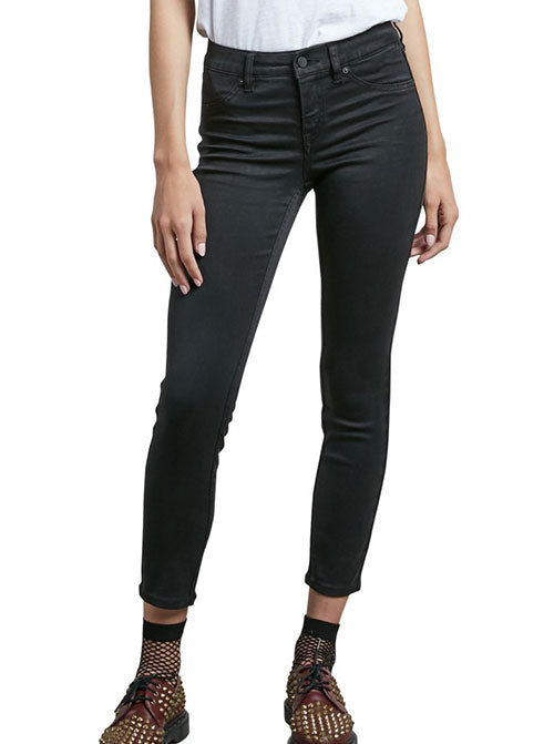 Volcom Ladies Liberator Legging In Black Out