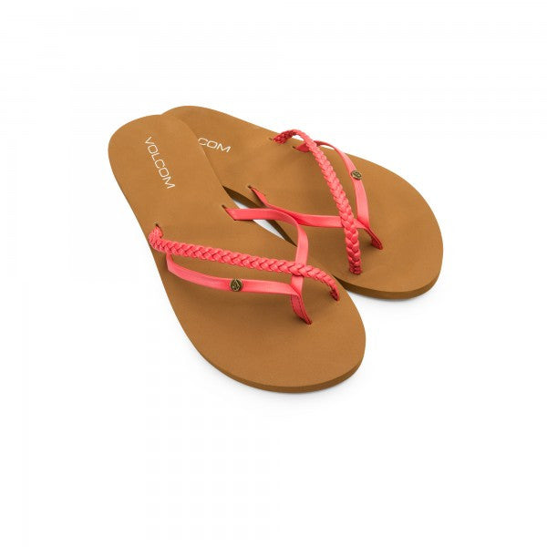 Volcom Ladies Thrills Sandals Pistol Punch