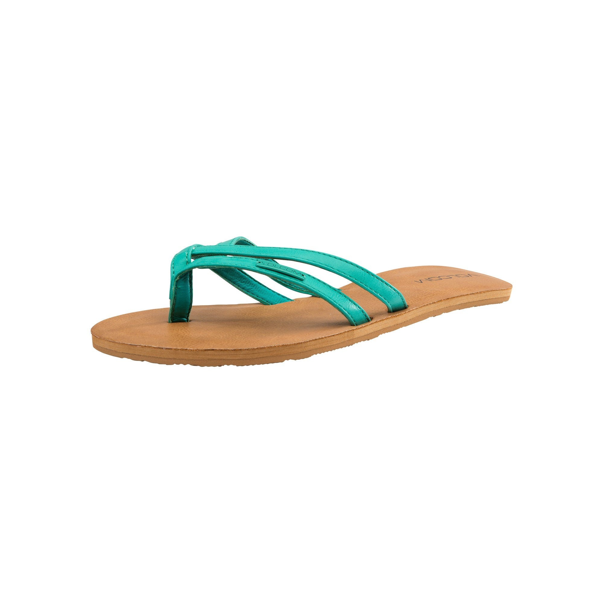 Volcom Ladies Crosstown Sandal Green Spray