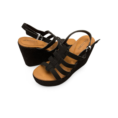Volcom Ladies High Society Sandal Black