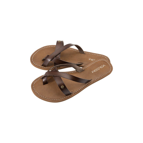 Volcom Ladies Ramble Sandal Brown