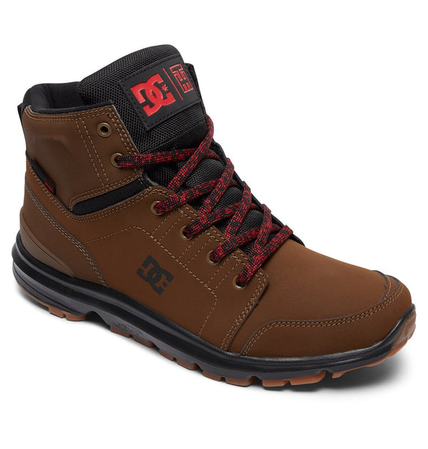 DC Mens Torstein Boot In Dark Chocolate