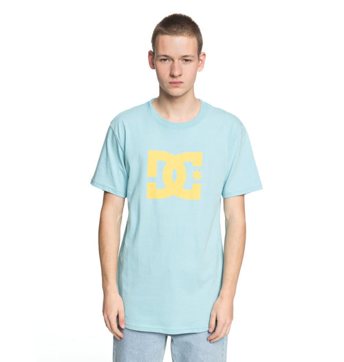 DC Mens DC Star SS Tee Shirt In Marine Blue