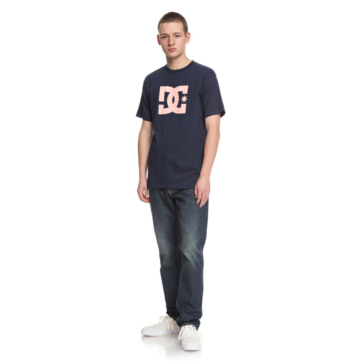 DC Mens DC Star SS Shirt In Sodalite Blue