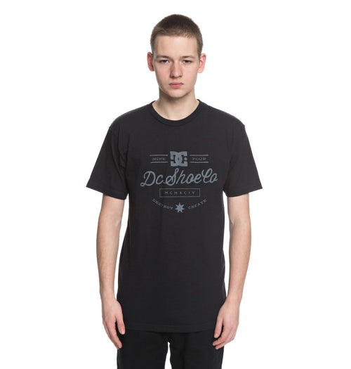 DC Mens Therapy SS Shirt In Black