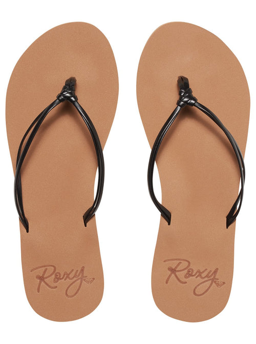 Roxy Ladies Lahaina III Sandals In Black
