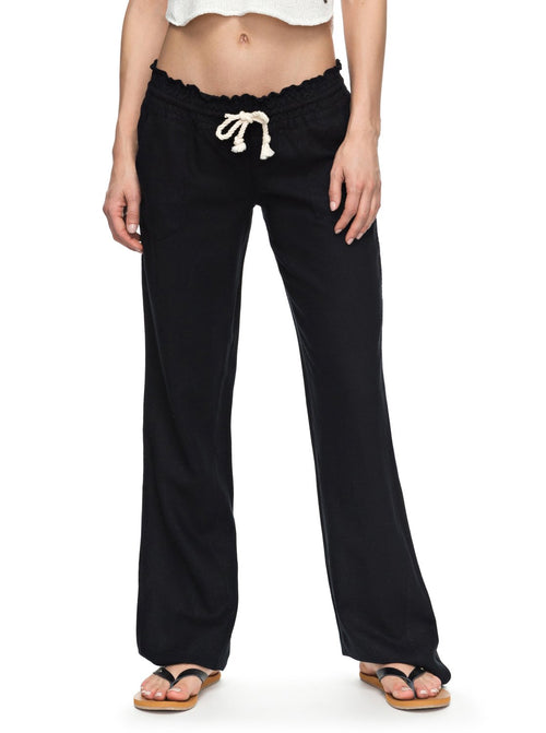 Roxy Ladies Oceanside Pants In Black