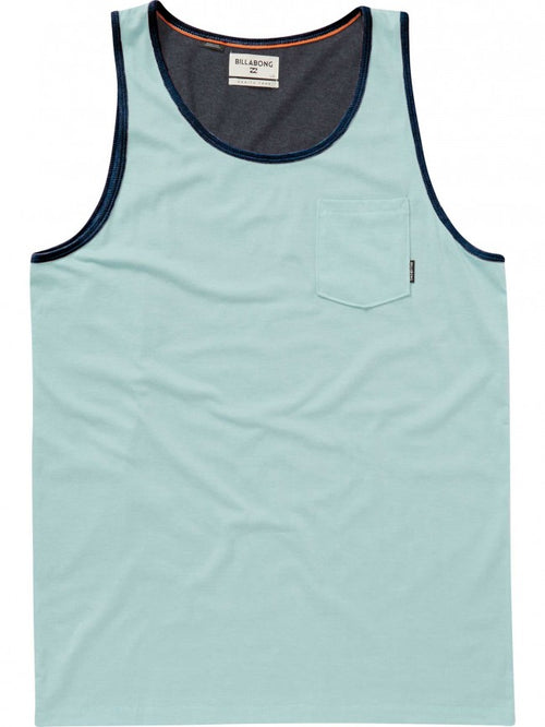 Billabong Boys Zenith Tank Top In Dark Ozone