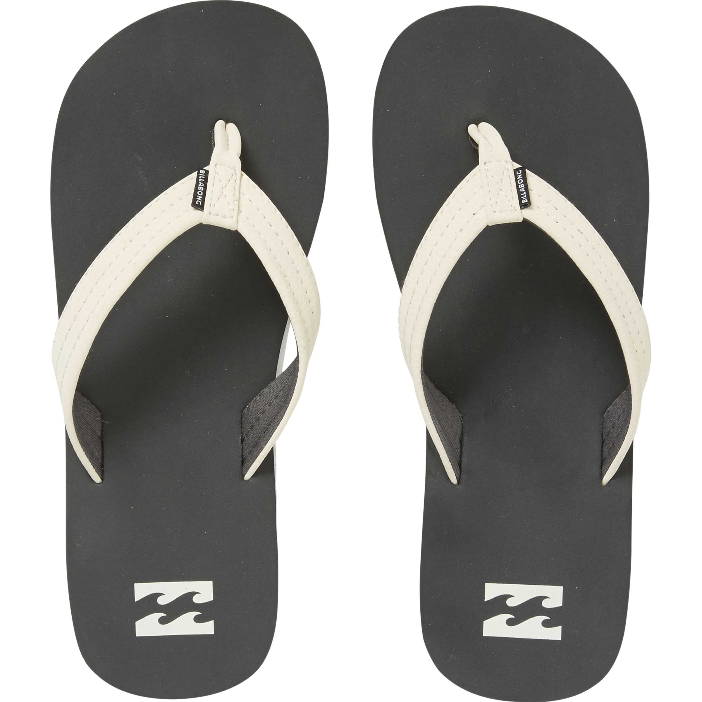 Billabong Boys Stoked Sandals In Charcoal