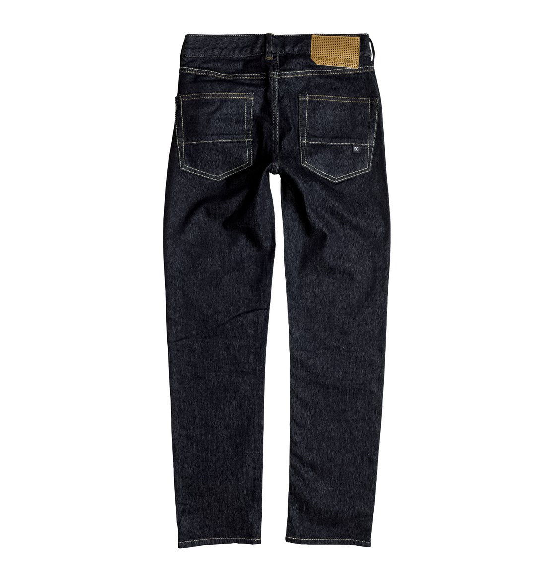 DC Boys Worker Slim Boy SIR Pants In Indigo Rinse