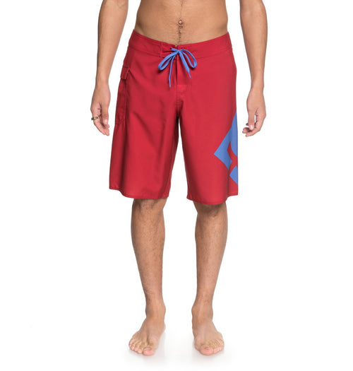 DC Mens Lanai 22 Boardshorts In Tango Red