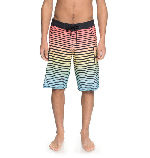 DC Mens Stroll It 22 Boardshorts In Black/Multi