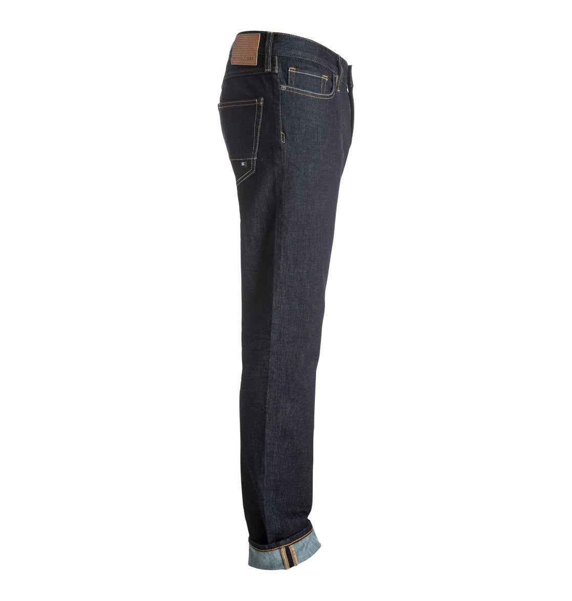 DC Mens Worker Straight Jean Indigo Rinse