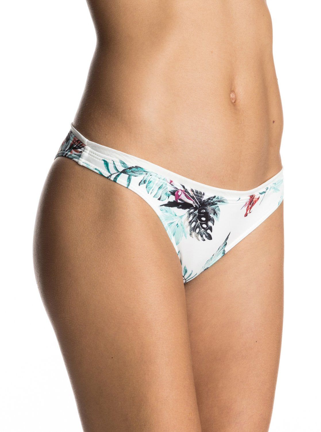 Roxy Ladies Shady Palm Surfer Bikini Bottoms Cariban Flowers