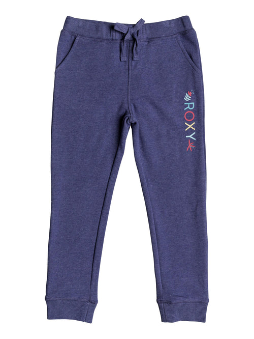 Roxy Girls Lovely Dreams Sweatpants in Deep Cobalt