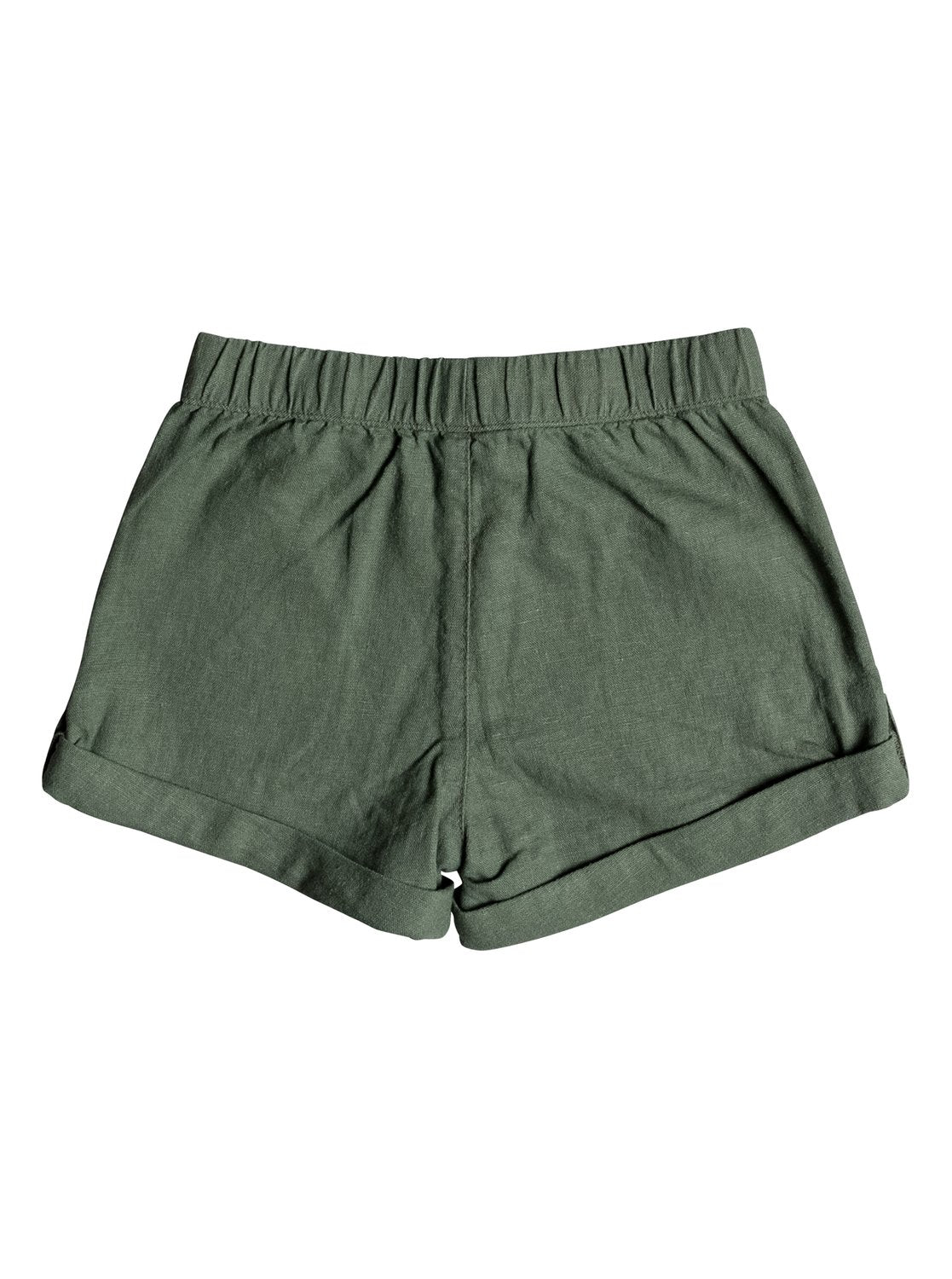 Roxy Girls Care Free Spirit Shorts In Olive