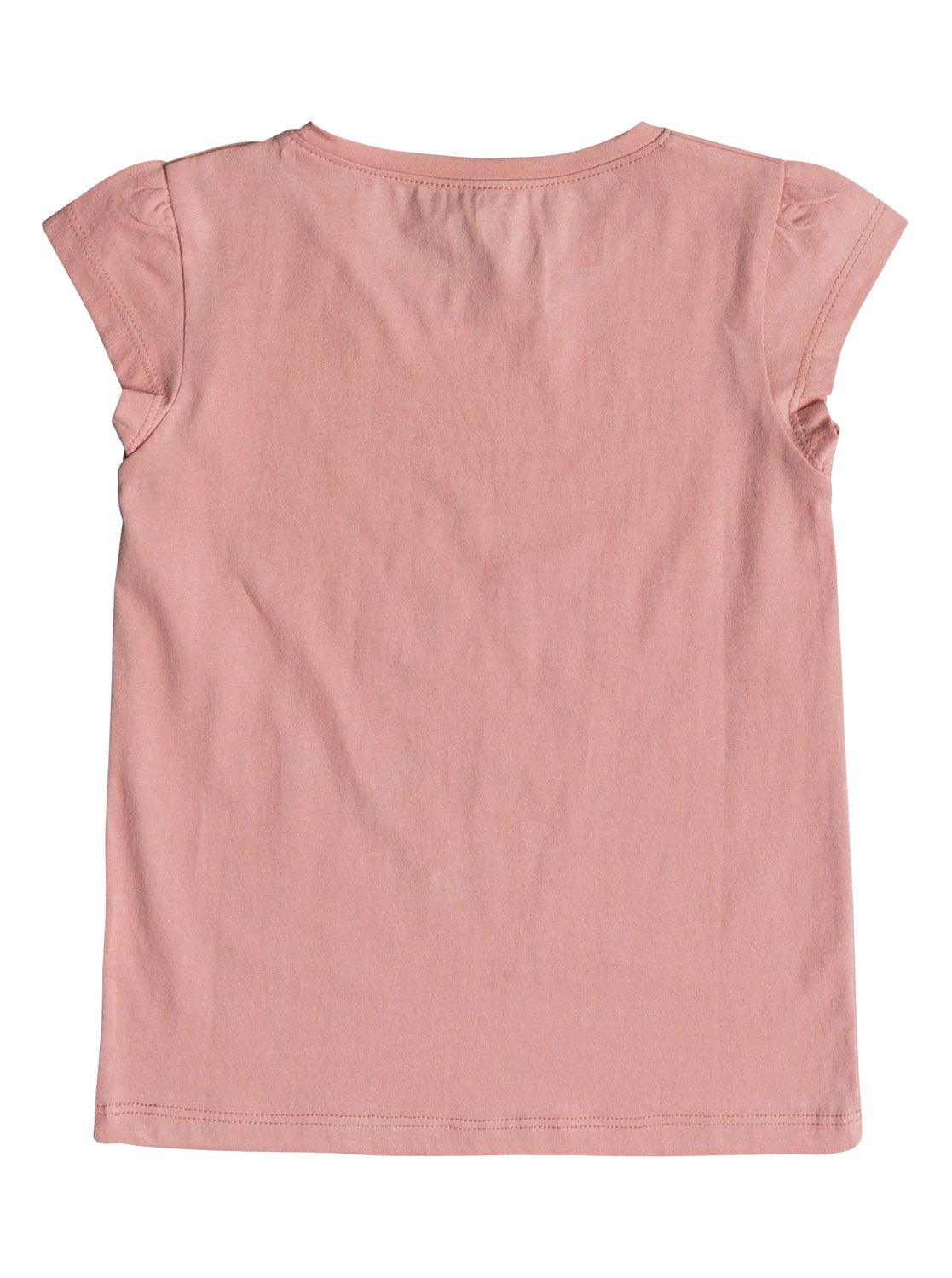 Roxy Girls Moid Tee Shirt In Peaches N Cream
