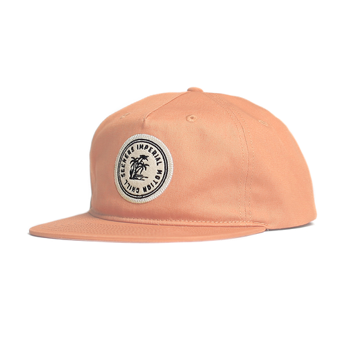 Imperial Motion Seeker Snap Back Hat In Blush