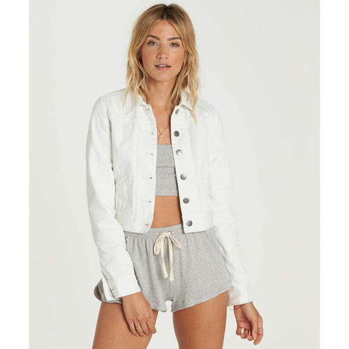 Billabong Ladies Beaming Dream Jacket In Sea Bleach