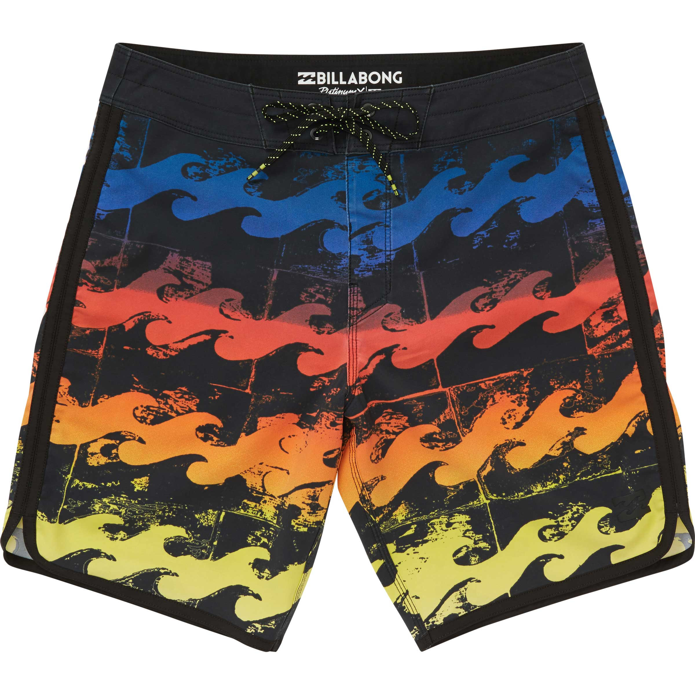 f9002a08bb Billabong Boys 73 X Line Up Boardshorts In Neon – Current Apparel ...