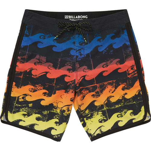 Billabong Boys 73 X Line Up Boardshorts In Neon