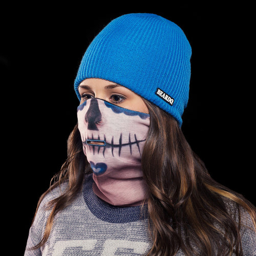 BEARDO Ski Mask - Sugar Skull
