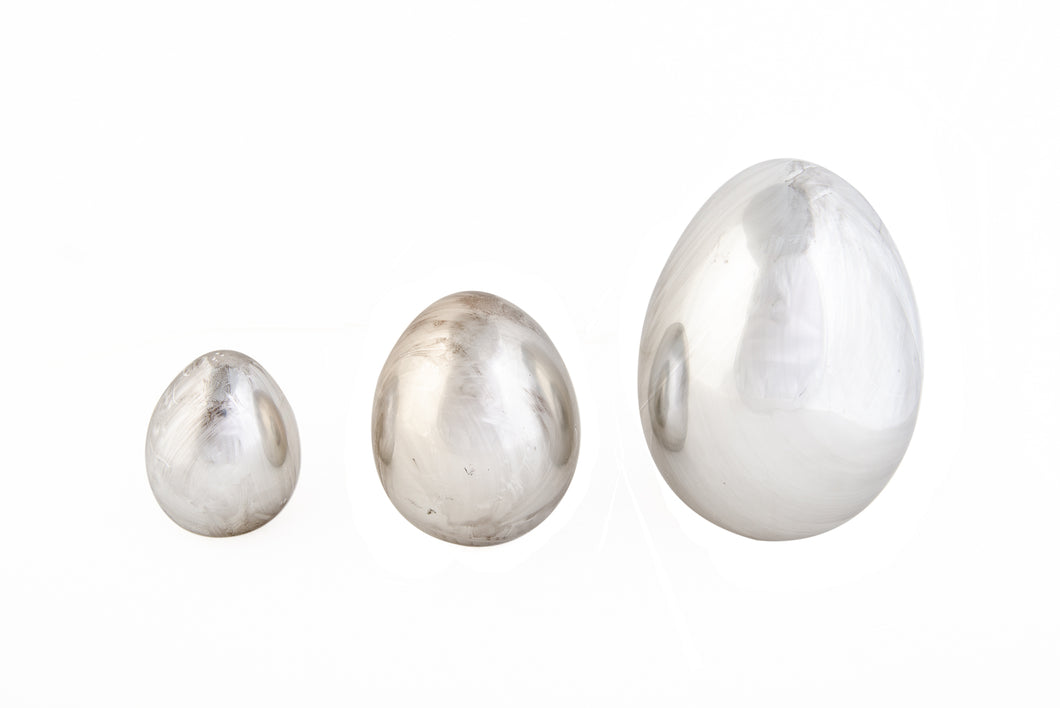Silver Egg Extra Small