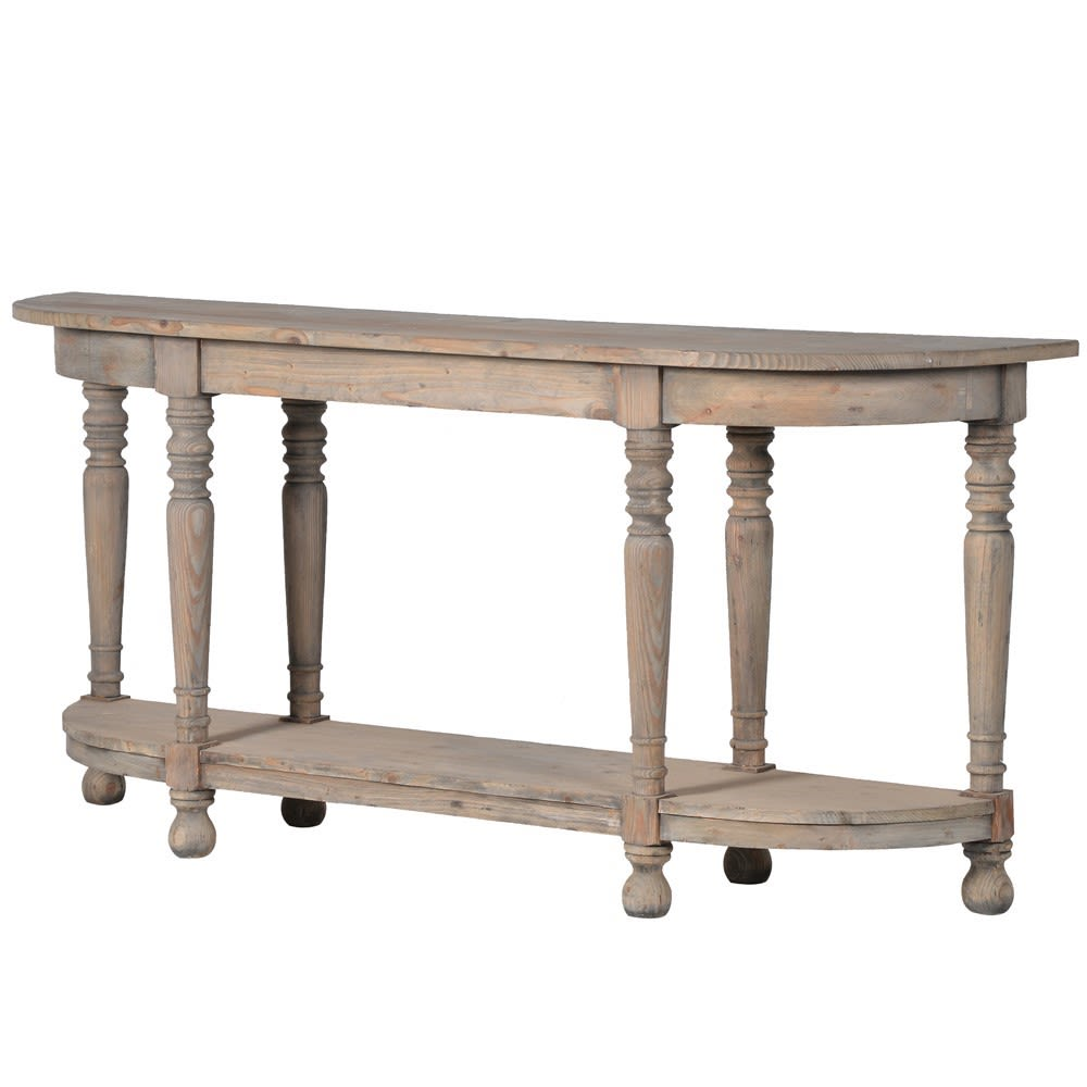 Colonial Console Table