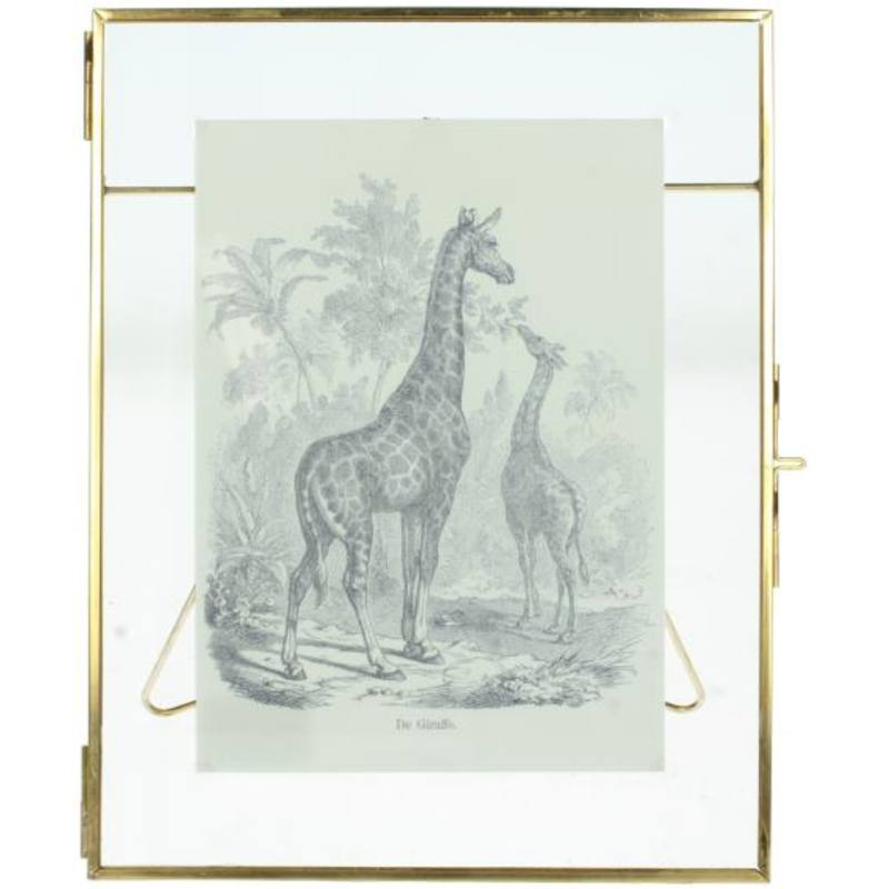 Gold Picture Frame (23cm x 18cm)