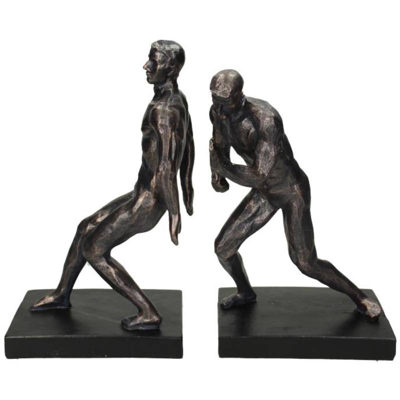 Bookend Figures - Black