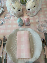 Load image into Gallery viewer, Rose Gingham Disposable Table Cloth