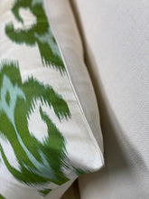 Load image into Gallery viewer, Selena Ikat Cushion - Green