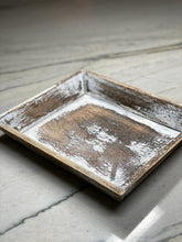 Load image into Gallery viewer, Grey Wash Rectangular Tray (22cm x 18cm)
