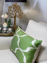 Load image into Gallery viewer, Ali Ikat Cushion - Green