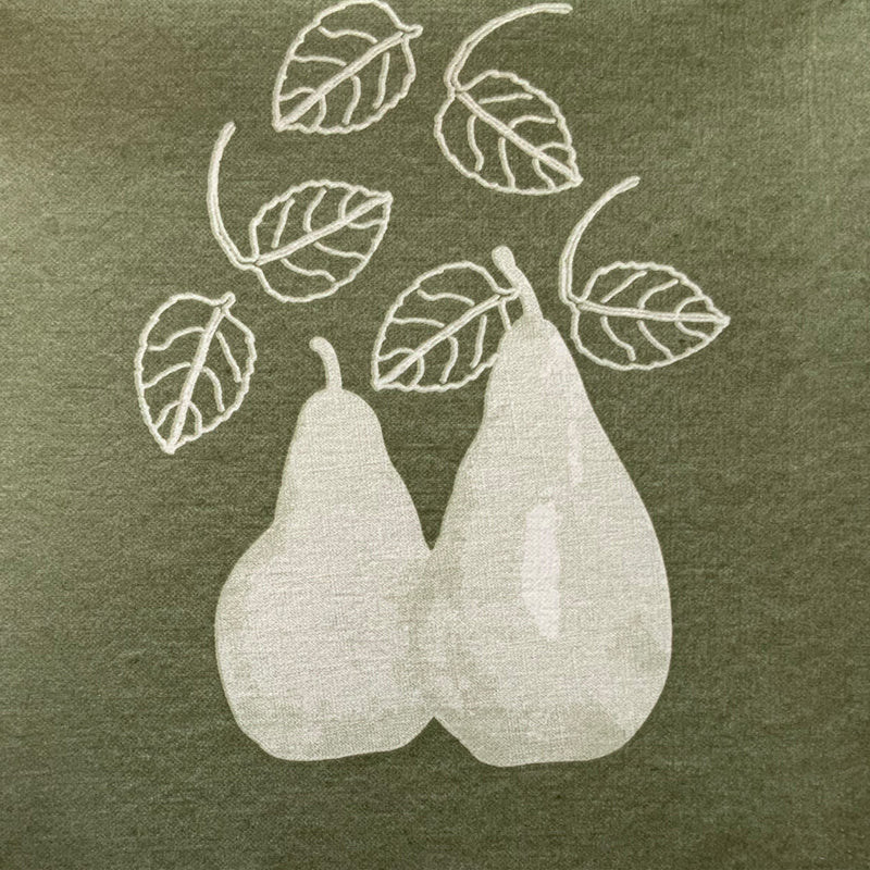 Pear Design Disposable Napkin Pack