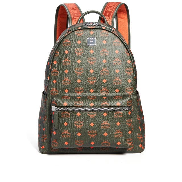 Stark Backpack in Green Visetos